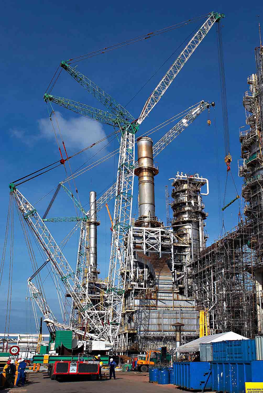 Tat Hong Holdings Ltd - Crane Rental / Hire Co  Largest in APAC Region