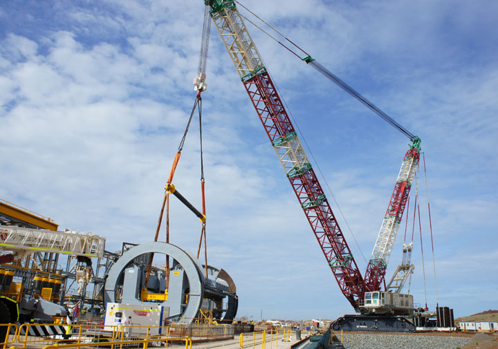 Tower Crane Vs Mobile Crane : Crawler crane rental co strategically located in apac region