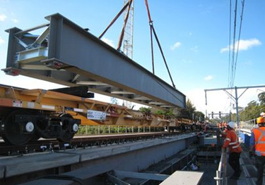 Riverwood Rail Bridge Replacement in  Sydney, Australia